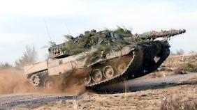 Kampfpanzer Leopard II: der deutsche Exportschlager.