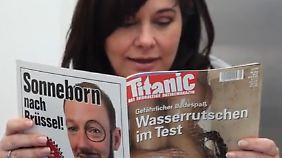 """Das ZDF verweigert die Ausstrahlung des Spots, weil er eigentlich Werbung für die """"Titanic"""" sei - ein kommerzielles Produkt."""