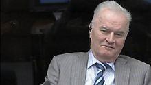 Dieser Screenshot zeigt Mladic im Januar diesen Jahres vor dem Kriegsverbrechertribunal.