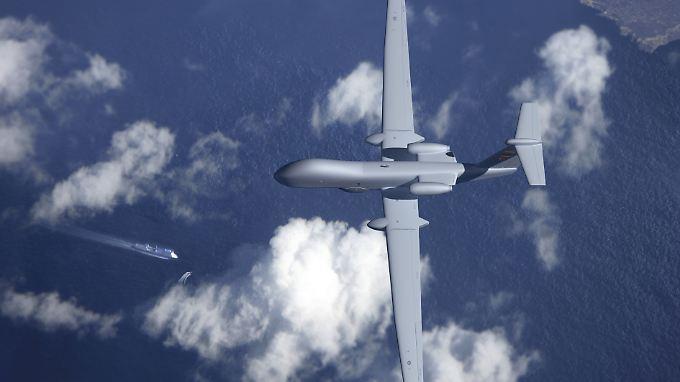 Mittlere Flughöhe und lange Flugdauer: Male-Drohnen sollen in erster Linie in der militärischen Aufklärung verwendet werden.