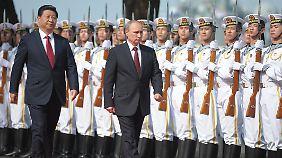 Vor der Wahl in der Ukraine: Putin sucht sich Verbündete in China