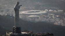 """Rio de Janeiro</br> <b>""""Estádio do Maracanã (Estádio Jornalista Mário Filho)""""</b>"""