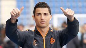 Cristiano Ronaldo kann im Gegensatz zu Costa sicher beim Champions-League-Finale auflaufen.