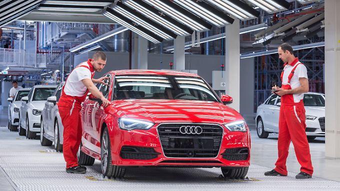 Audi wartet mit neuen Modellen auf.