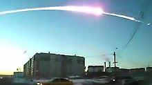 Der Tscheljabinsk-Asteroid, der vergangenes Jahr über der russischen Stadt niederging, hatte eine Sprengkraft von 600 Kilotonnen. Foto: RIA Novosti
