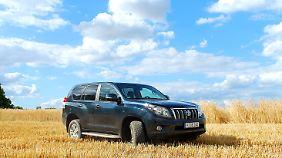 Der Drei-Liter-Diesel ist bei 173 PS mit den mehr als zwei Tonnen des Autos gut beschäftigt.