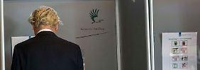 Überraschung in den Niederlanden: Geert Wilders verliert bei Europawahl