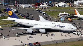 """""""Königin der Lüfte"""" auf der ILA: Lufthansa weiht Boeing 747-8 in Berlin ein"""