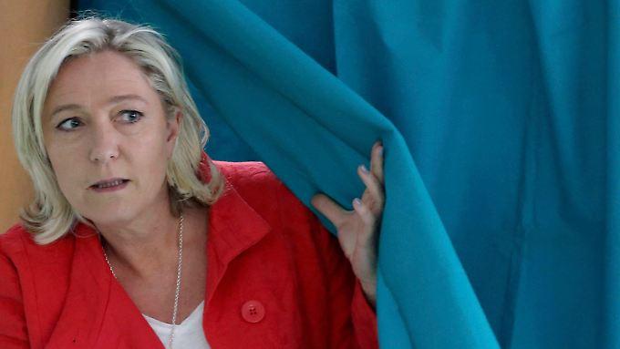 Marine Le Pen hat die französische Front National in die Europawahl geführt und 25 Prozent erreicht.