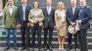 Sieben Abgeordnete kann die euroskeptische AfD ins Europaparlament entsenden - eine bunte Truppe, der eines gemein ist: Die neuen Abgeordneten haben wenig politische Erfahrung, sind aber getrieben von der Gewissheit, Recht zu haben in ihrer Kritik am Euro.