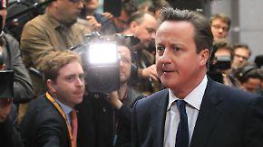 Stimme gegen Juncker: Cameron droht Europas Unruhestifter zu werden