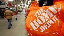 Klar über den Erwartungen: Sandy hilft Home Depot