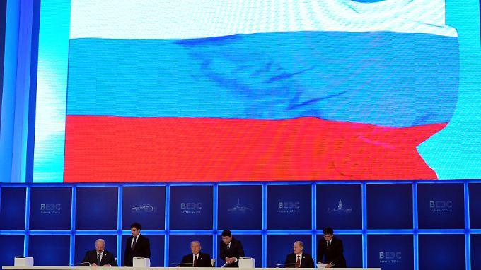 Russland sieht sich wegen der Wirtschaftsunion mit Vorwürfen konfrontiert, Ex-UdSSR-Staaten kontrollieren zu wollen.