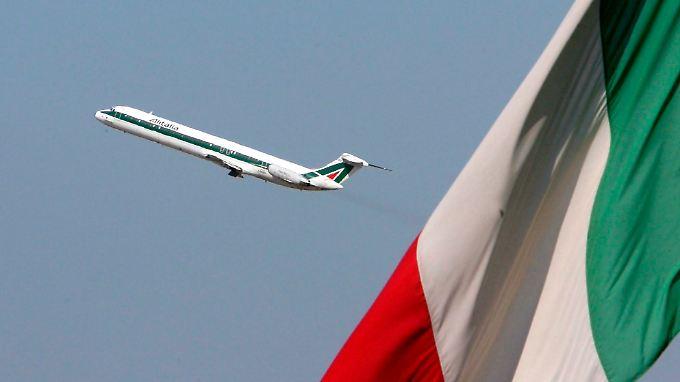 Die italienische Regierung versucht schon länger, Etihad von Alitalia zu überzeugen.