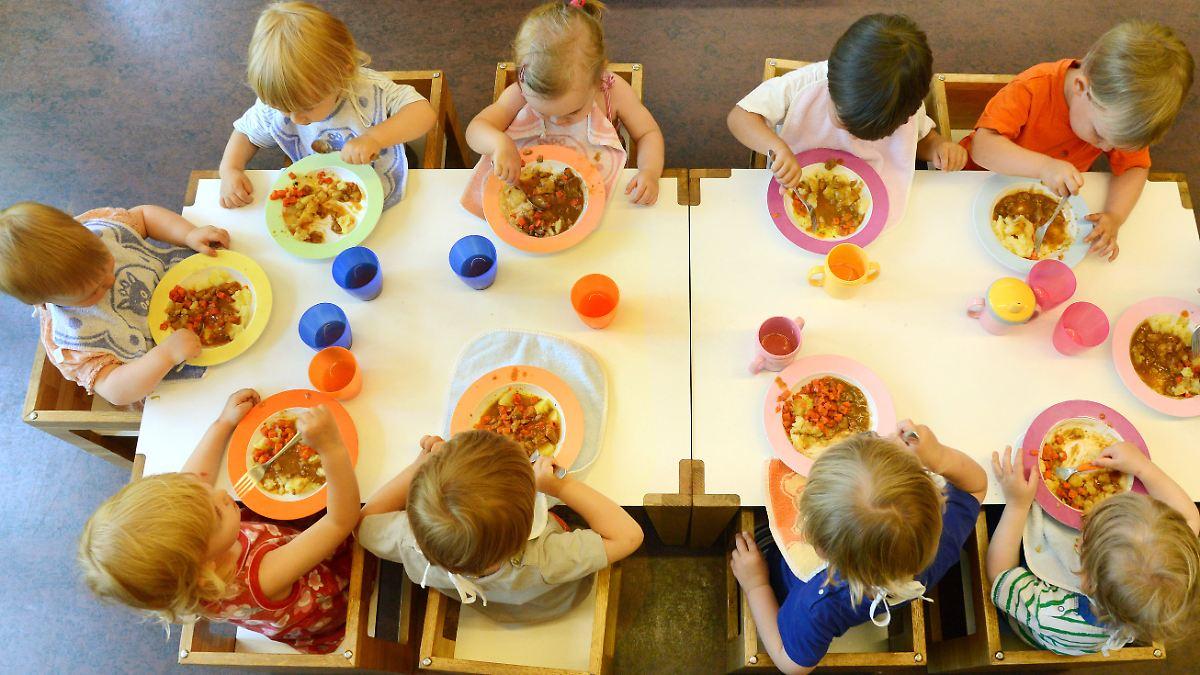 zu wenig salat obst und fisch kita kinder essen nicht ausgewogen genug n. Black Bedroom Furniture Sets. Home Design Ideas