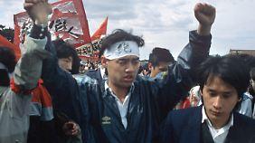 Auf dem Tiananmen-Platz ist im Laufe der Proteste nie jemand ums Leben gekommen.