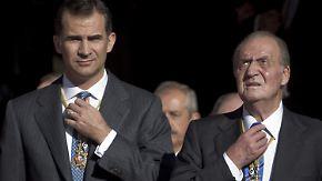 Überraschende Abdankung: Spaniens König Juan Carlos übergibt an Felipe