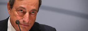 EZB-Chef Mario Draghi wird am Donnerstag historische Maßnahmen in der Euro-Krise verkünden.