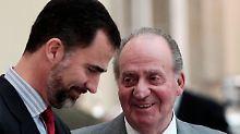 Juan Carlos dankt ab: Felipe ist bereit für die Krone