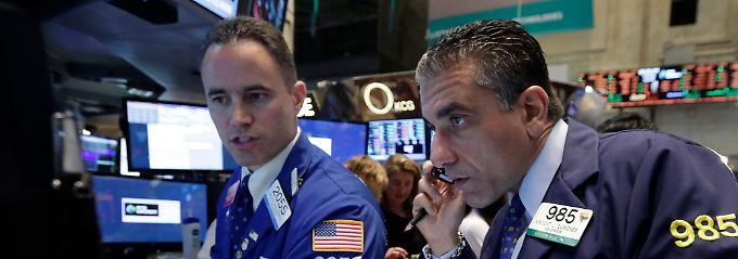 Für kurze Zeit herrscht an der Wall Street Ratlosigkeit.