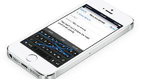Auch die Wischtastatur Swype wird iOS-8-Nutzern zur Verfügung stehen.