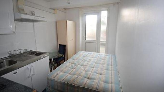 Mehr als 700 Pfund im Monat kostet diese Wohnung im Zentrum Londons.