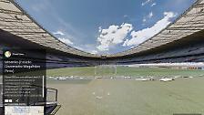 Google Street View macht's möglich: Faszinierender Einblick in WM-Stadien