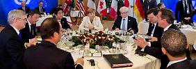 Notfallpläne und Flüssiggasimporte: G7 wollen weg von russischer Energie