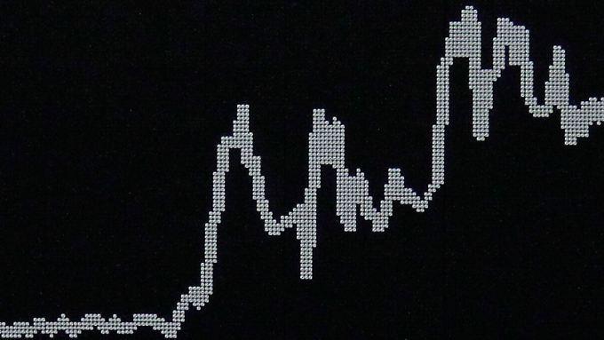 Historische Dax-Kurse: Erst die 10.000-Punkte-Marke geknackt, dann wieder hergeschenkt.