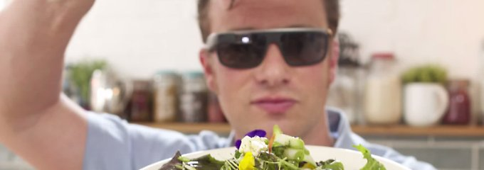 Praktisch statt peinlich: Jamie Oliver ist kein Glasshole