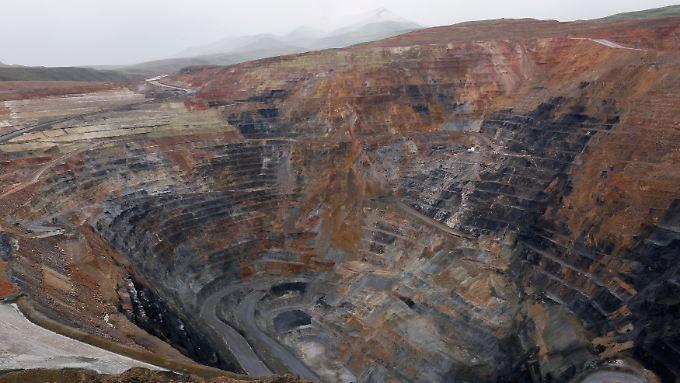 Gähnende Leere: Städte an Bergbaustandorten wie diesem im US-Bundesstaat Nevada sehen sich nach dem Boom in ihrer Existenz bedroht.