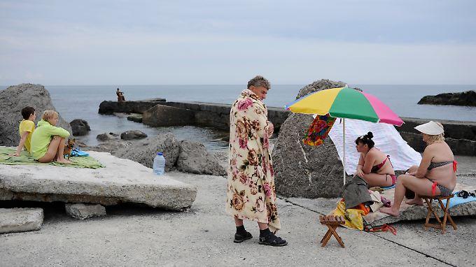 Vor allem russische Staatsdiener sollen in diesem Jahr auf der Krim Urlaub machen.