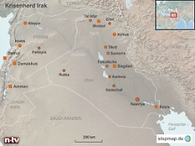 Ein Kraftwerk für Baidschi: Der Ort, an dem sich die Siemens-Mitarbeiter versteckt hielten, liegt knapp 20 Kilometer nördlich von Tikrit.