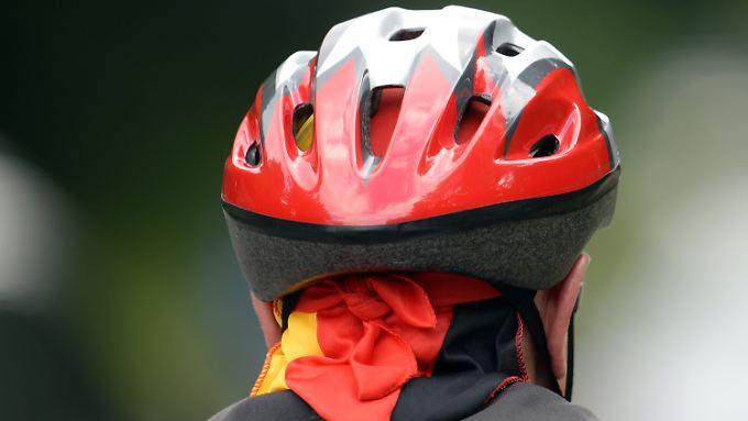 Radfahrern ohne Schutzhelm wird bei unverschuldeten Unfällen nicht weniger Schadenersatz zugesprochen.