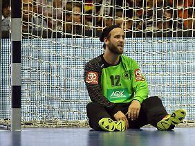 Silvio Heinevetter und der deutsche Handball sind am Boden - schon wieder, oder immer noch.