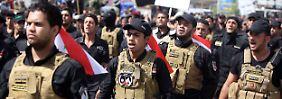 Bagdad wie im Kriegsfieber: Irakische Schiiten rüsten gegen Isis auf