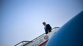 Kerry will in Bagdad für eine Lösung ohne religiöse Scheuklappen werben.