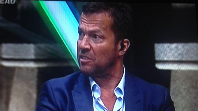 Lothar Matthäus, auch im brasilianischen Fernsehen unterwegs.