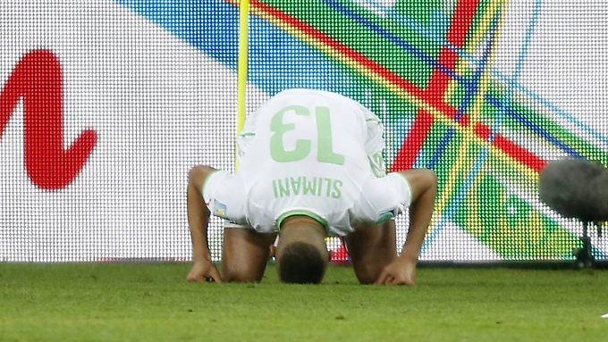 Islam Slimani ist die der algerische Mann für die entscheidenden Tore.