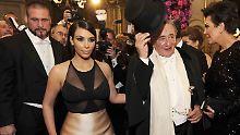 Kim Kardashian auf dem Wiener Opernball: Der Reality-Star bezeichnete die Reise später als Horror-Trip.