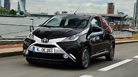 Aygo hat sich schick gemacht: Toyota bringt Generation X