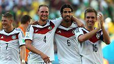 Nun spielt die DFB-Elf gegen Brasilien.