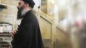 Irakische Regierung äußert Zweifel: Video soll Dschihadisten-Führer Al-Baghdadi zeigen