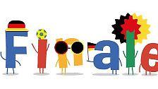 Google widmete dem Kantersieg Deutschlands ein eigenes Doodle.