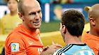 Auf wen trifft das DFB-Team? Auf Arjen Robben und seine Elftal oder Lionel Messis Albiceleste?