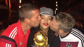 Promi-News des Tages: Rihanna feiert mit DFB-Stars