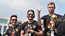 Kollektiver Wahnsinn an der Spree: Hunderttausende bejubeln die Weltmeister