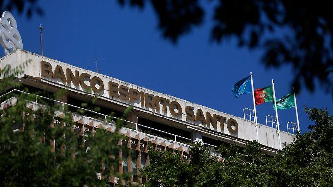 Die Eignerfamilie hinter der Banco Espirito Santo hat Schulden von rund 850 Millionen Euro nicht gezahlt.