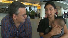 """""""Zum Glück umgebucht"""": Mutter mit Baby sollte eigentlich mit MH17 fliegen"""