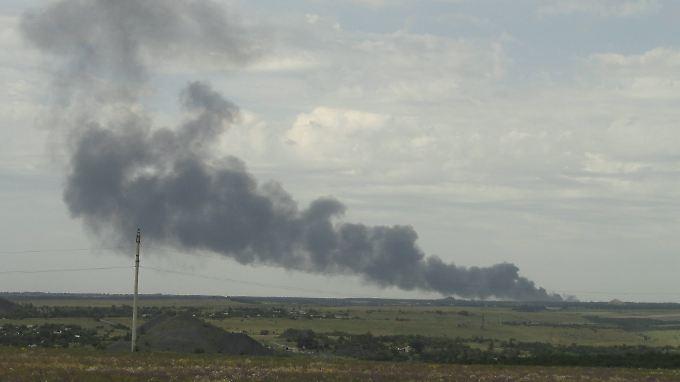 Flugzeugabsturz und Bodenoffensive: Börsen schalten in den Krisenmodus